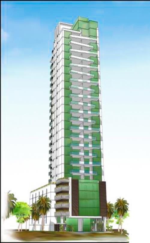 Malibú Beach Tower Edificio