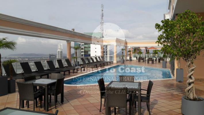 Vista del Mar Avenida Balboa, Panamá